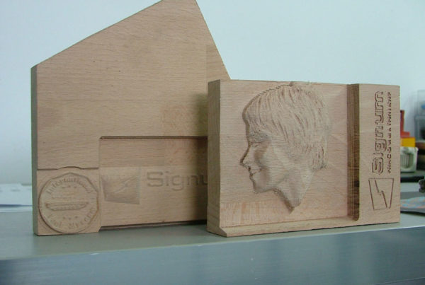 3D-Fräsen Holz